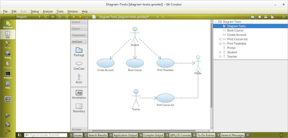 Modeleditor qt wiki a use case diagram ccuart Choice Image
